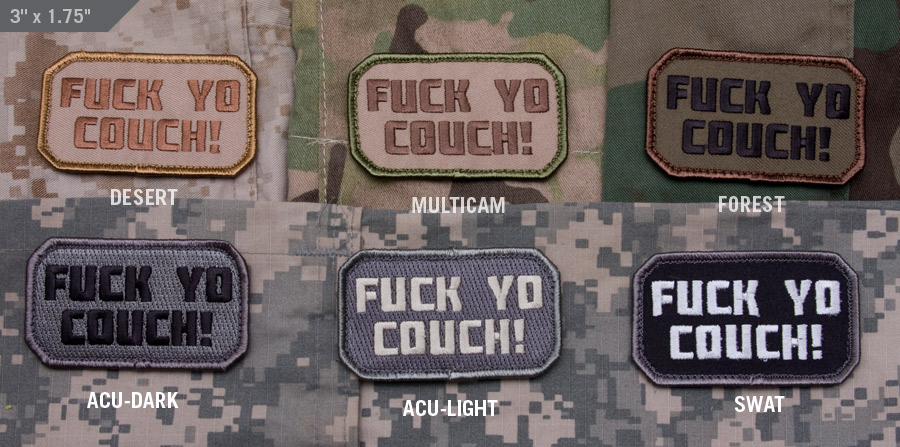 f yo couch patch